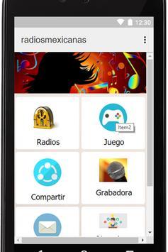 Radios Mexicanas Gratis Coah apk screenshot