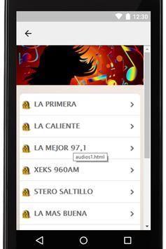 Radios Mexicanas Gratis Coah screenshot 5