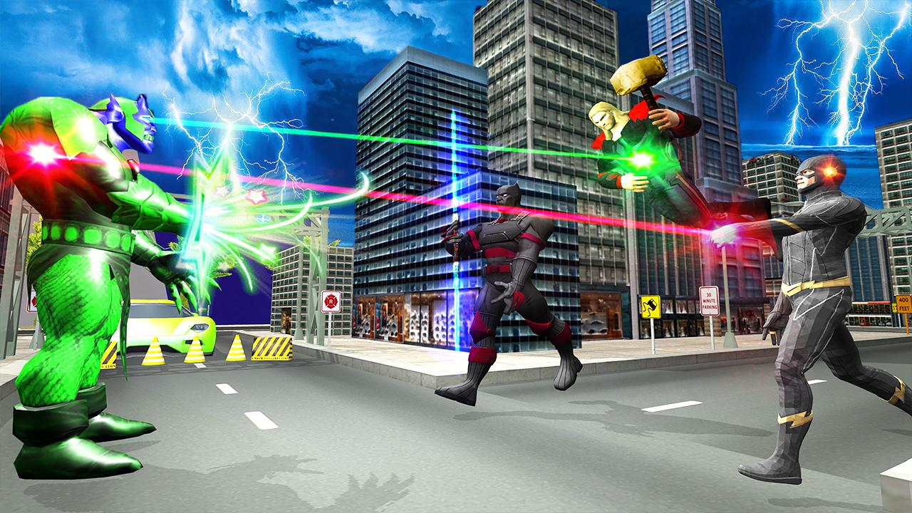 Black Flash Speed Hero Vs Zoom Flash Hero Battle For Android Apk