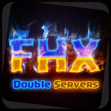 Clash of FHx coc double server poster