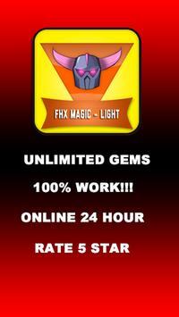 Fhx COC Magic TH11 Premium poster