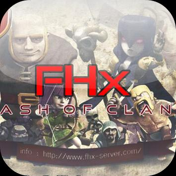 FHx Server® for Clash Of Clans poster