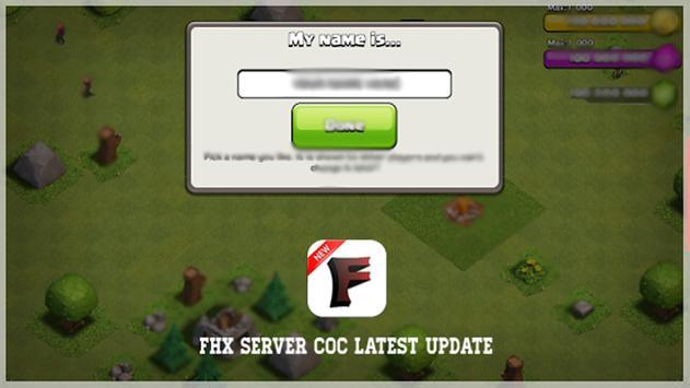 Fhx Server Coc Latest Update apk screenshot