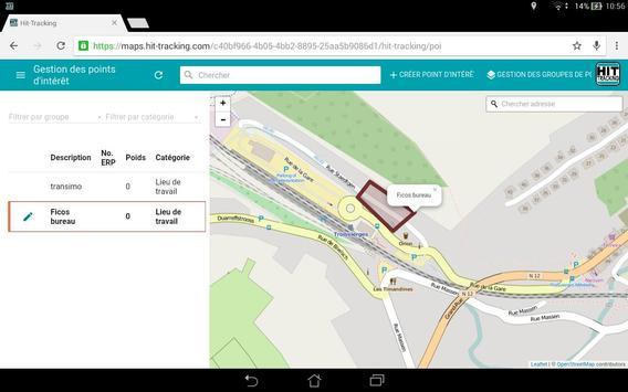Hit-Tracking apk screenshot