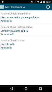 Meu Fichamento apk screenshot