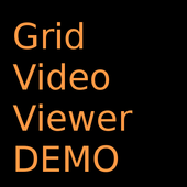Grid Video Viewer DEMO icon