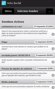 Voto Social (Beta) screenshot 1