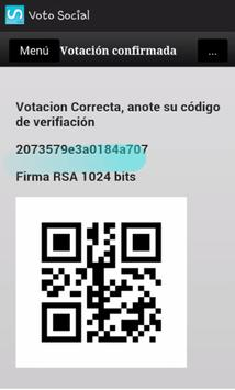 Voto Social (Beta) screenshot 3