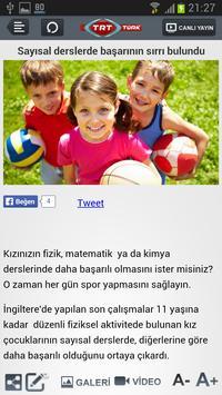 TRT TÜRK Mobil apk screenshot