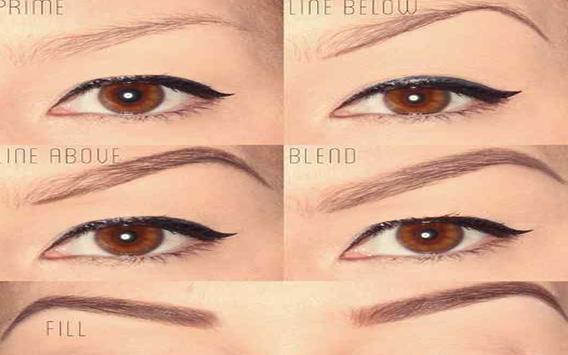 DIY Eyebrows Tutorial screenshot 5