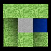 Cube Terrain 3D Holographic Live Wallpaper icon