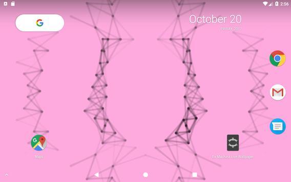 Ex Machina Live Wallpaper screenshot 12