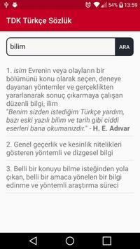 TDK Türkçe Sözlük screenshot 3