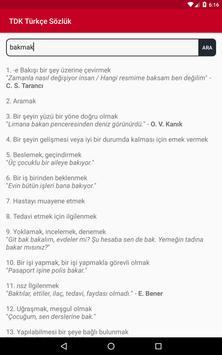 TDK Türkçe Sözlük screenshot 5