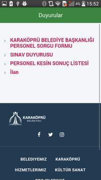 Karaköprü Belediyesi screenshot 2
