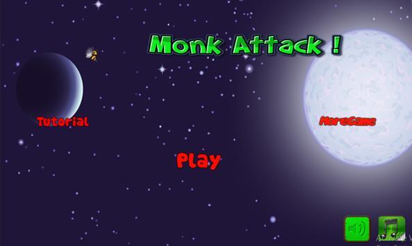 Monk Master Attack apk screenshot