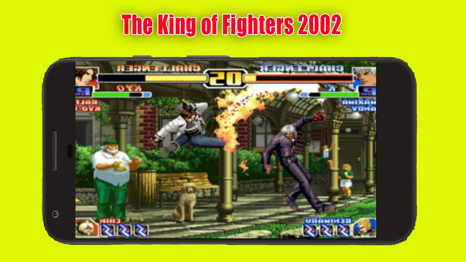 the king of fighters 2002 apk+data download