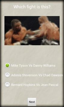 Guess That Boxing Fight apk screenshot