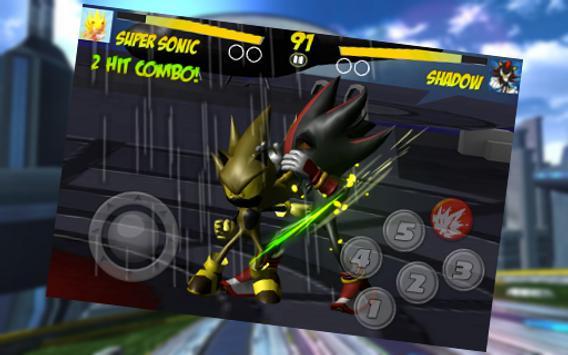 4 Schermata Master Fighter Sonic Robot