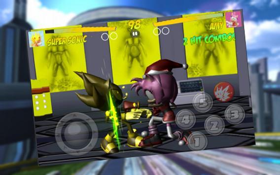 Poster Master Fighter Sonic Robot