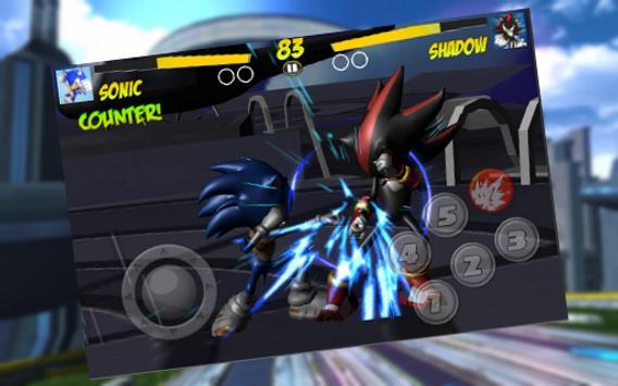 2 Schermata Master Fighter Sonic Robot