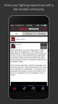 Fighters.Network screenshot 3