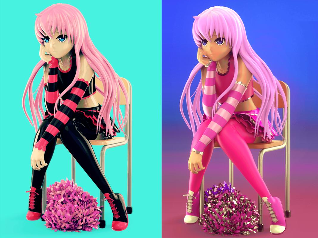 Colorminis collection new anime models スクリーンショット 12