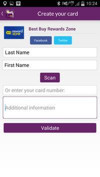 Fidall loyalty cards apk screenshot