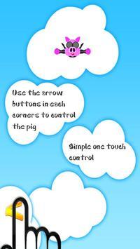 Piggy Parachute Lite apk screenshot