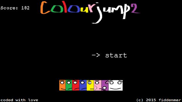 colourjump2 poster