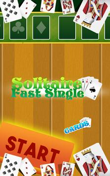 Solitaire Fast Single poster