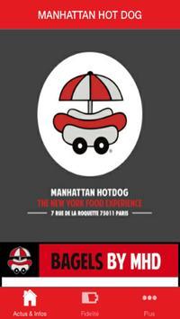 MANHATTAN HOT DOG poster