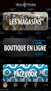 Poissonnerie Vents & Marées poster