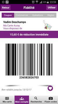 Ma Carte Auray - carte de fidélité apk screenshot