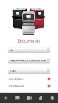 Merrychef® easyTouch™ Mobile apk screenshot