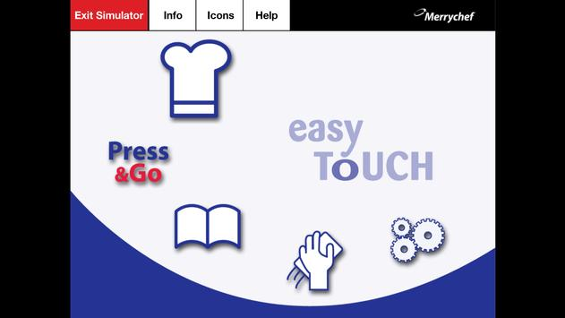 Merrychef® easyTouch™ Mobile poster