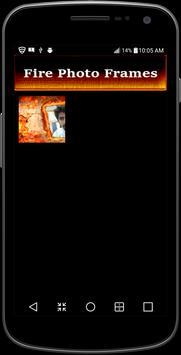 Fire Name Photo frames apk screenshot