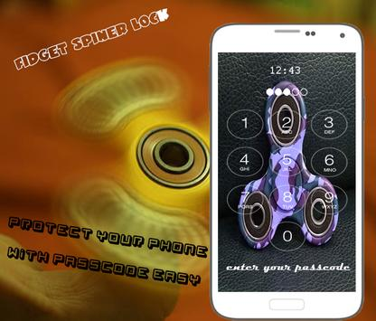 Fidget spinner Lock Pro HD apk screenshot