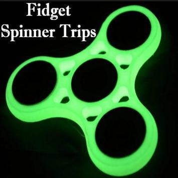 Fidget Spinner Tips poster