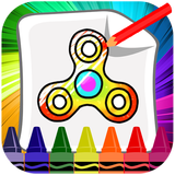Fidget Spinner Coloring