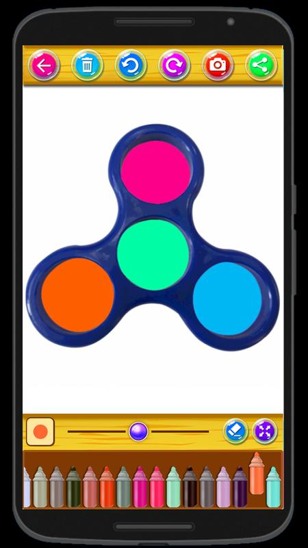 how to draw a fidget spinner dragoart