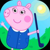 Field hockey pig icon