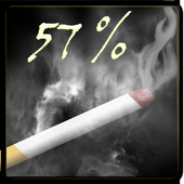 Widget Battery Cigarette icon