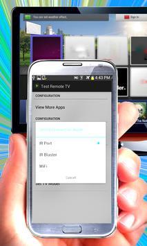 TV Remote Control apk screenshot