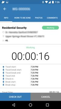 UrbanAlarm - field service screenshot 1
