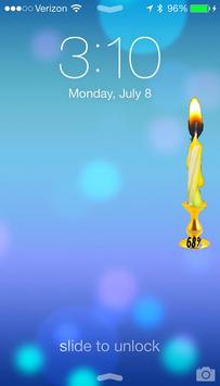Candle Battery Joke apk screenshot