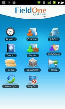 FieldOne Mobile screenshot 1