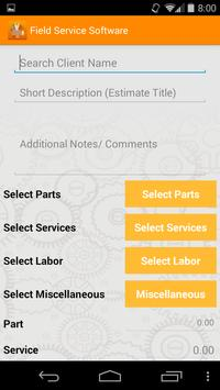 Field Service Software - FFT apk screenshot
