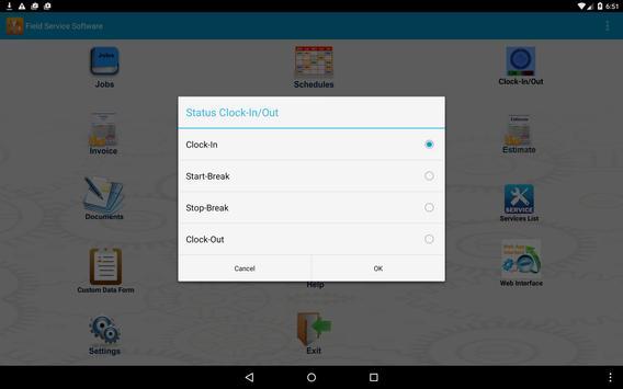 Field Service Software - FFT screenshot 9