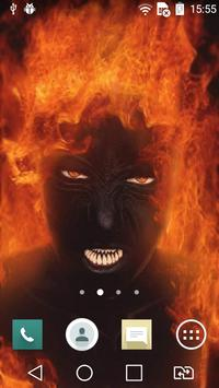 Evil girl live wallpaper apk screenshot